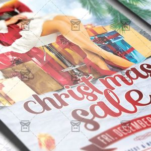 Download Christmas Sale PSD Flyer Template Now