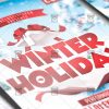 Download Winter Holiday PSD Flyer Template Now