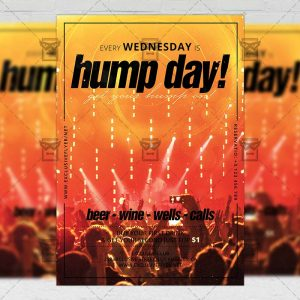 Download Hump Day PSD Flyer Template Now