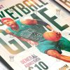 Download Basketball PSD Flyer Template Now