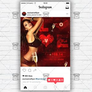 Love Bash - Instagram Flyer Template