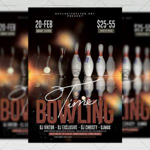 bowling_time-premium-flyer-template-1
