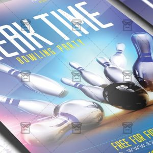Download Break Time PSD Flyer Template Now