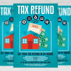 Download Tax Refund Season PSD Flyer Template Now