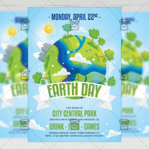 Download Mother Earth Day PSD Flyer Template Now