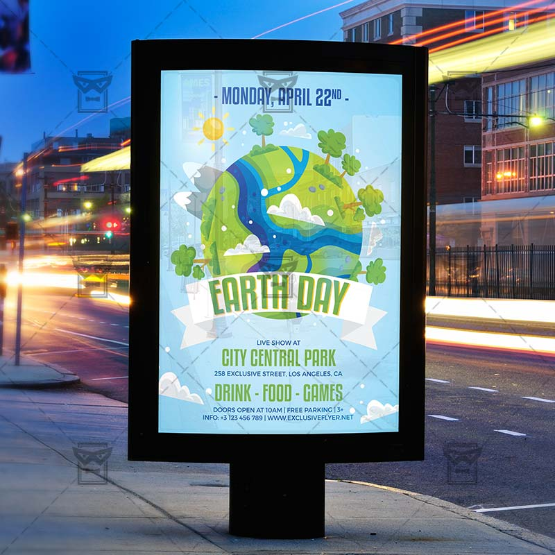 Mother Earth Day Flyer