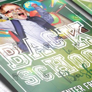 Download Back to School Bash PSD Flyer Template Now