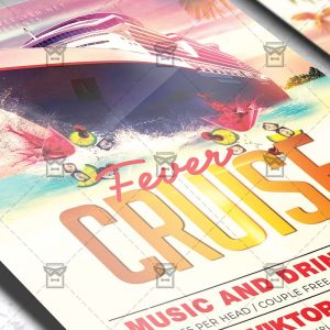 Download Cruise Fever PSD Flyer Template Now