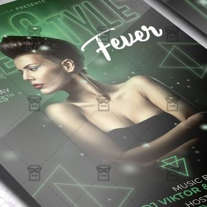 Download FreeStyle Fever PSD Flyer Template Now