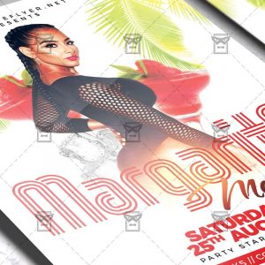 Download Margarita Mondays PSD Flyer Template Now