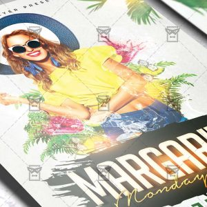 Download Margarita Mondays Bash PSD Flyer Template Now
