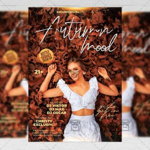 Download Autumn Mood Flyer PSD Flyer Template Now