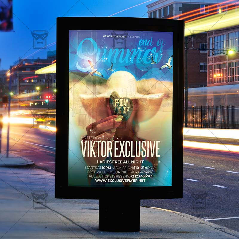 Download End of Summer Bash Flyer PSD Flyer Template Now