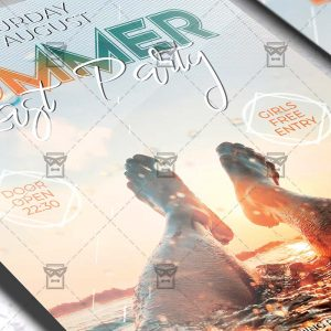 Download Last Summer Party Flyer PSD Flyer Template Now