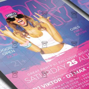 Download Sunday Funday Night PSD Flyer Template Now