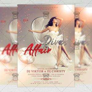 Download Divas Affair PSD Flyer Template Now