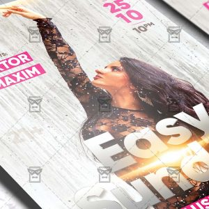 Download Easy Sunday PSD Flyer Template Now