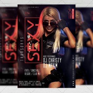 Download Sexy Thursdays PSD Flyer Template Now