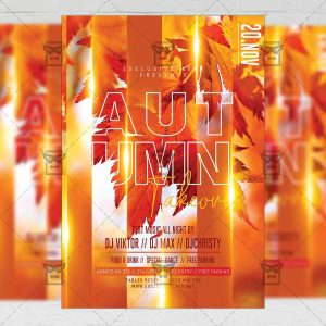 Autumn Takeover Flyer - Seasonal PSD Template