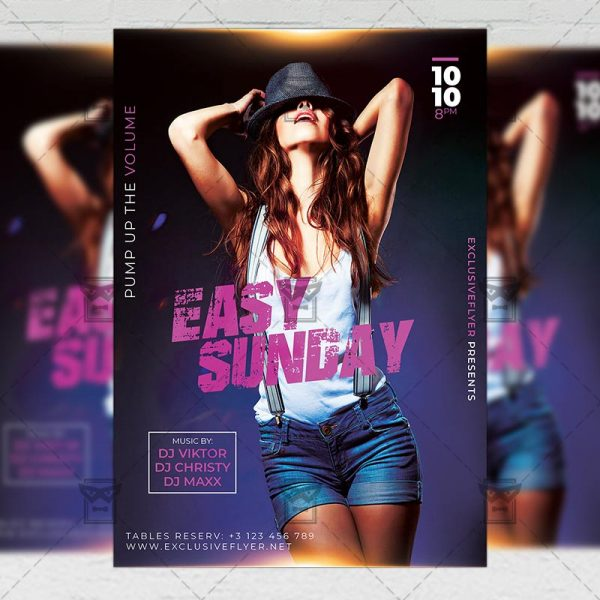 Download Super Sexy Nights PSD Flyer Template Now
