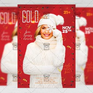 Cold Nights Flyer - Seasonal PSD Template