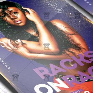 Racks on Racks Flyer - Club PSD Template