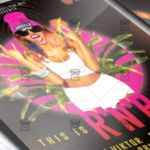R'n'B Saturdays Flyer - Club PSD Template
