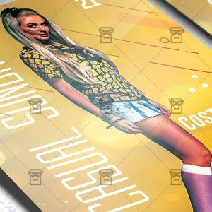 Casual Sunday Flyer - Club PSD Template