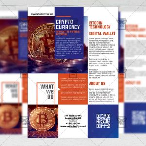 Bitcoin Mining Workshop - Flyer PSD Template