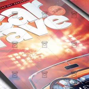 Car Rave - Flyer PSD Template