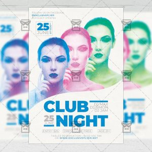 Club Night - Flyer PSD Template