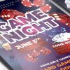 Game Night - Flyer PSD Template