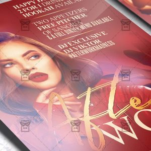 After Work Madness - Flyer PSD Template