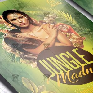 Jungle Madness - Flyer PSD Template