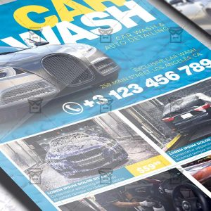 Car Wash - Flyer PSD Template