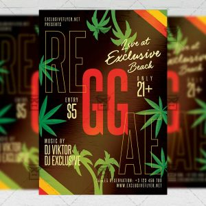 Reggae Affair - Flyer PSD Template