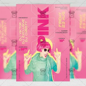 Pink Affair - Flyer PSD Template