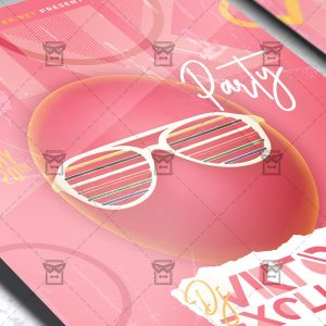 Pink Party - Flyer PSD Template