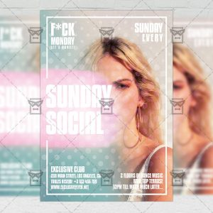 Social Sunday - Flyer PSD Template