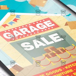 Garage Sale - Flyer PSD Template