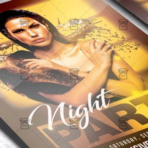 Party Night - Flyer PSD Template