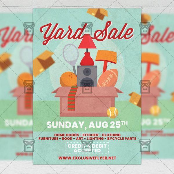 Yard Sale - Flyer PSD Template