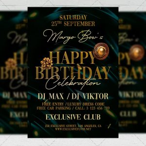 Birthday Bash - Flyer PSD Template