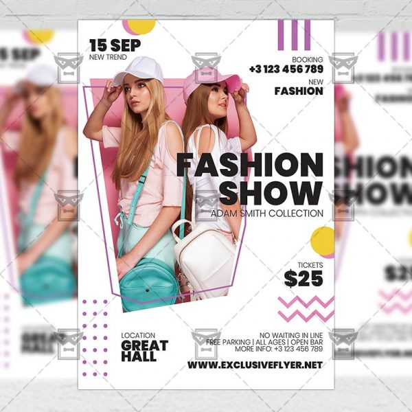 Fashion Show - Flyer PSD Template