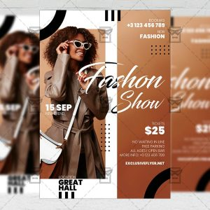 Fashion Week - Flyer PSD Template