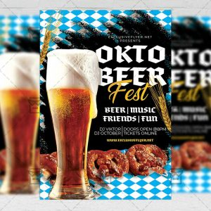 Octoberfest Event - Flyer PSD Template