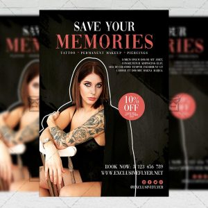 Tattoo Artist - Flyer PSD Template