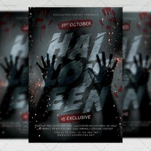 Halloween Affair - Flyer PSD Template