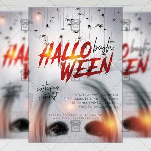 Halloween Bash - Flyer PSD Template