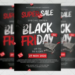 Black Friday - Flyer PSD Template